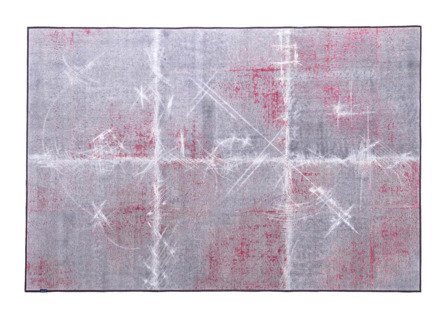 8660_THE MASHUP ABSTRCT_grey & red with silver stitching_CUBIK patch size_170x260_2