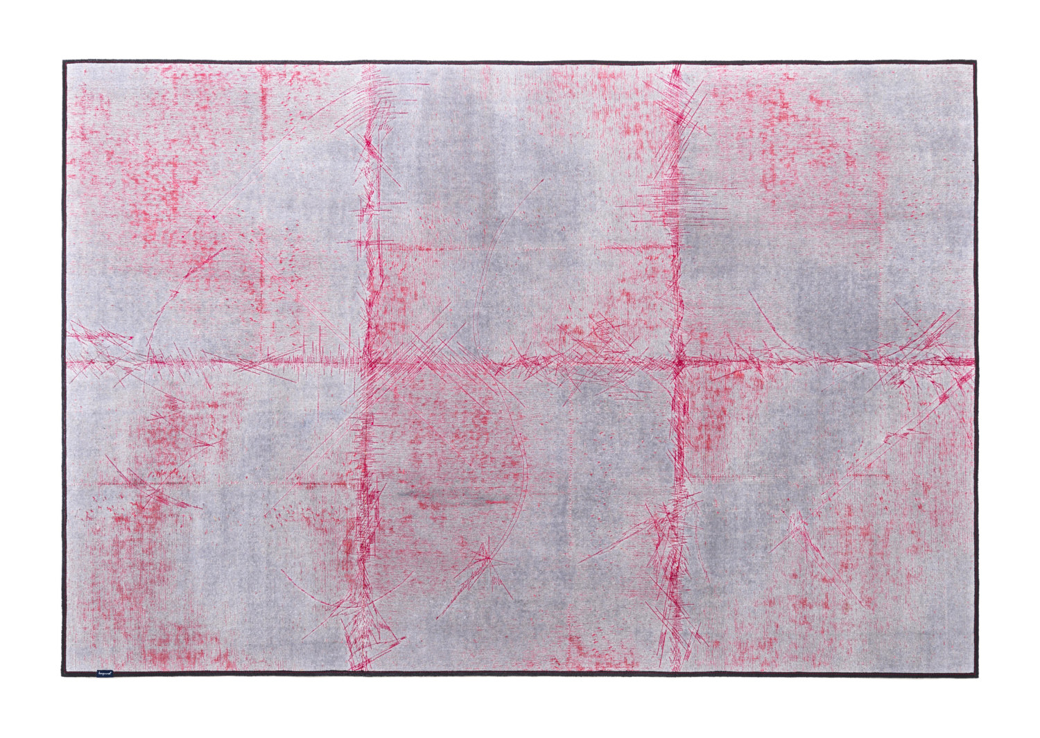 8661_THE MASHUP ABSTRCT_grey & red with red stitching_CUBIK patch size_170x260_2