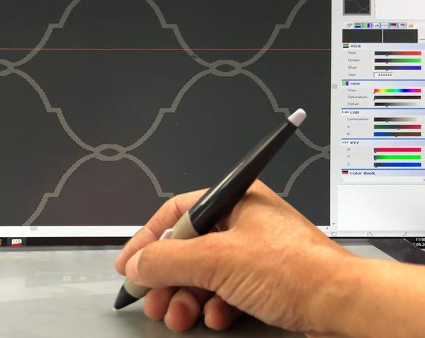 Axminster Teppich designen