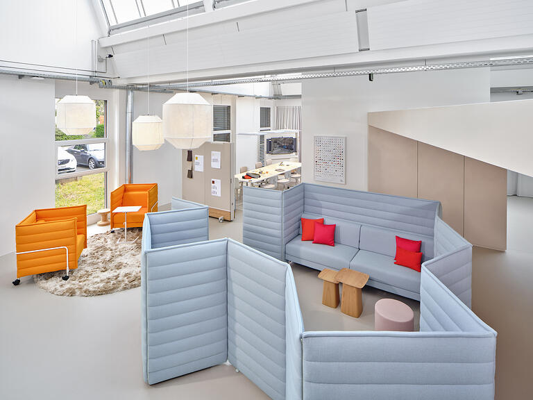 Modular space@Vitra Club Office, Birsfelden CH