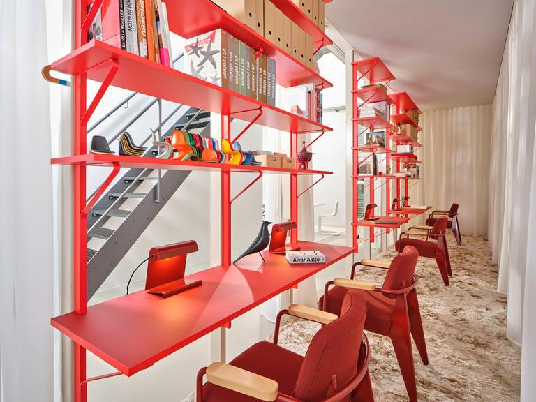 temporary desks@Vitra Club Office, Birsfelden CH