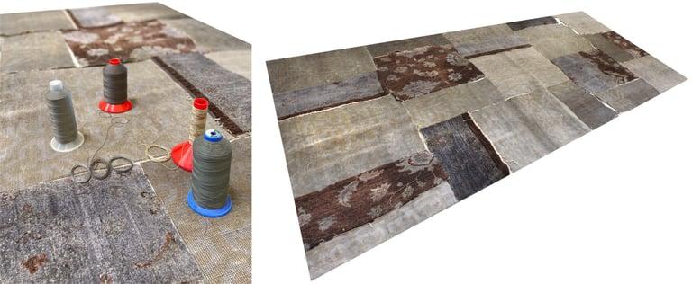 designerteppich layout mashup collectors grey brown