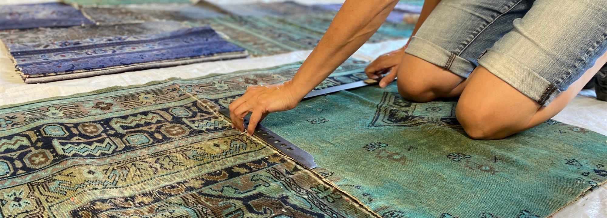 Handgemachte Teppichkunstwerke aus Deutschland