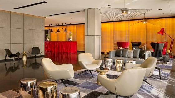Park Plaza Park Royal Hotel Interior Design by Digital Space