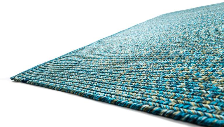 bunter Teppich für drinnen oder draußen wasserabweisend