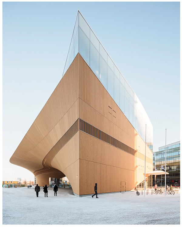 New Helsinki Library Building ALA Architects