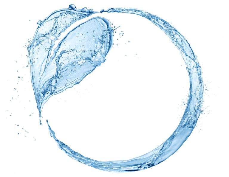 Geschlossener Wasserkreislauf mit Lösungsmittelrückgewinnung Tencel