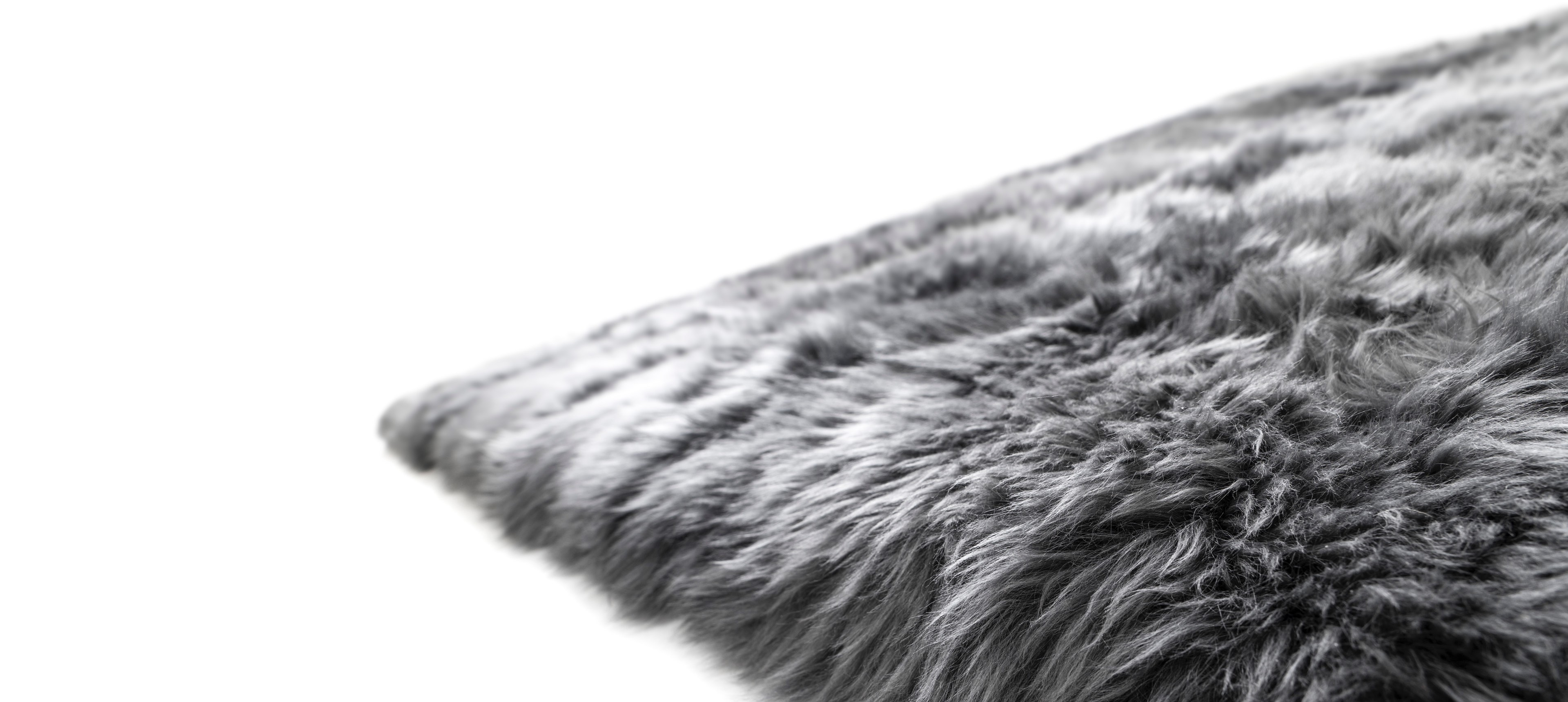 Sheepskin rug Lena Terlutter Edition steel