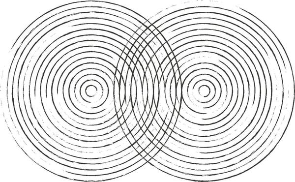 Teppichdesign erste Skizzen