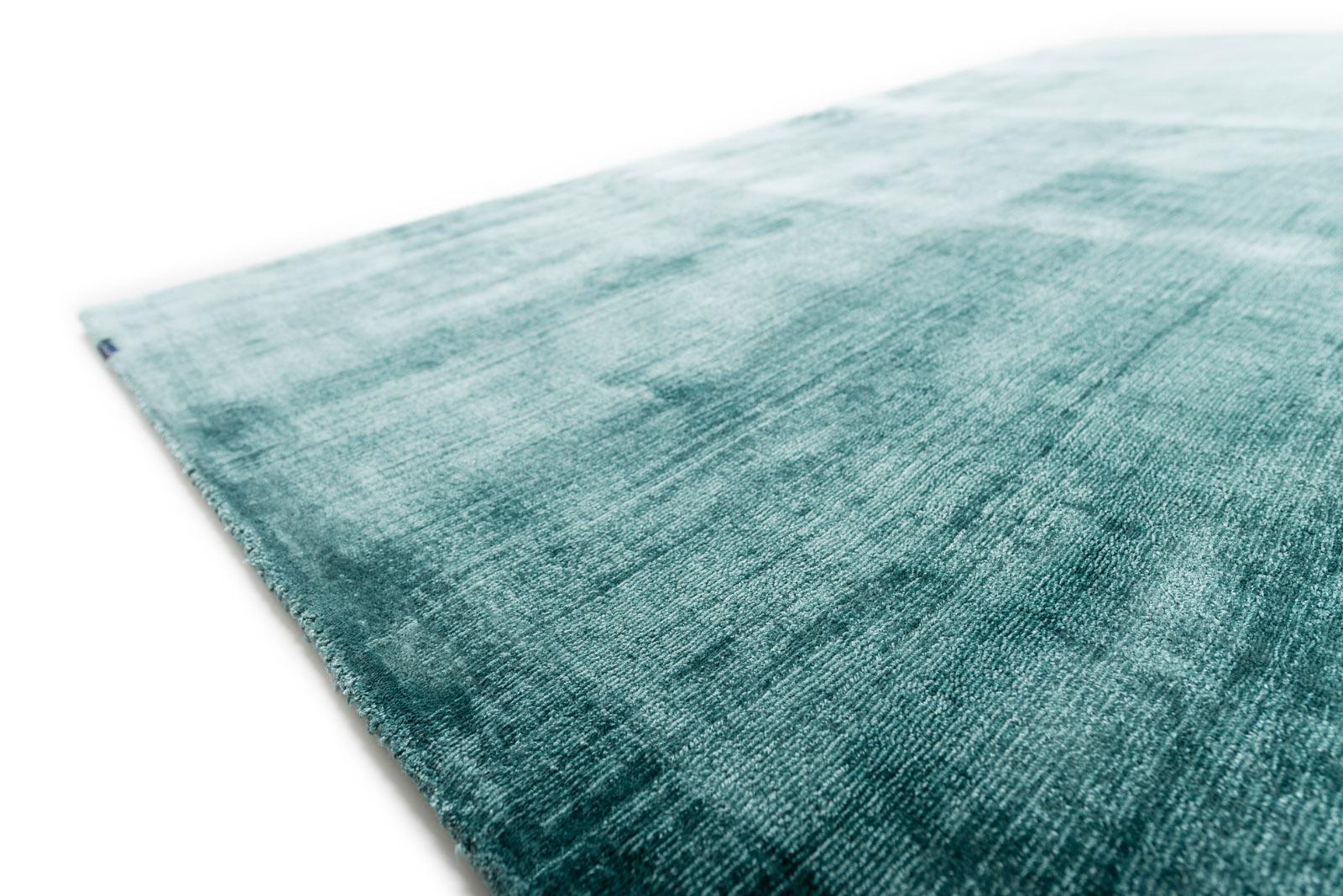 Viskose Teppich mit Schlaufenstruktur