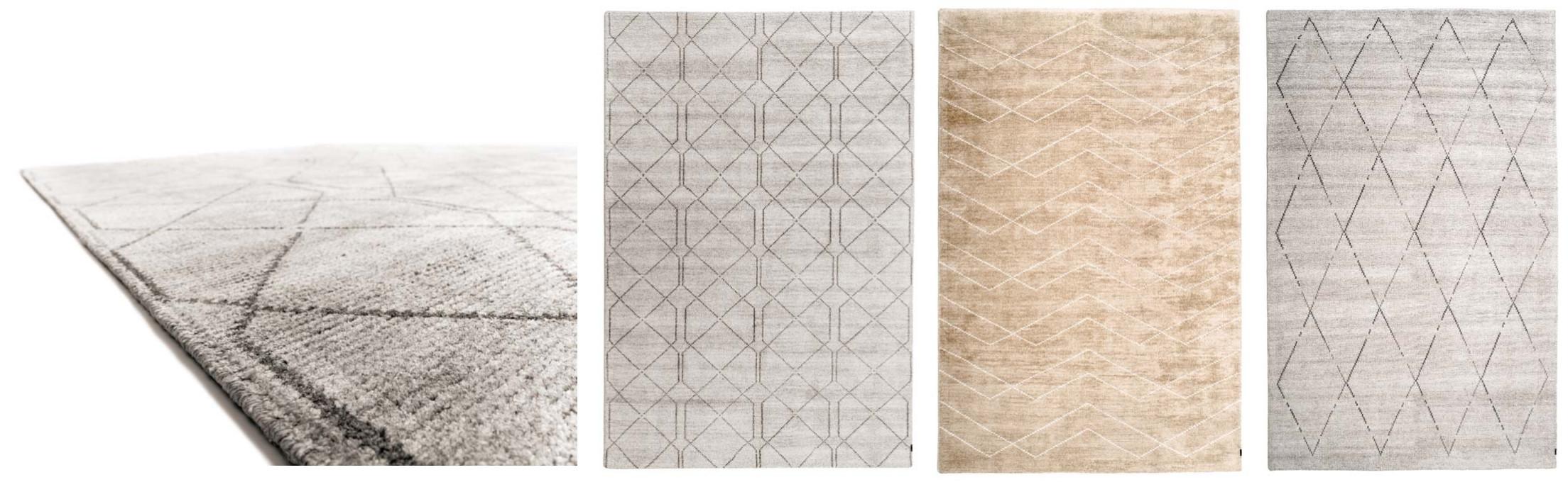 Teppichdesigns Minimal Maroque