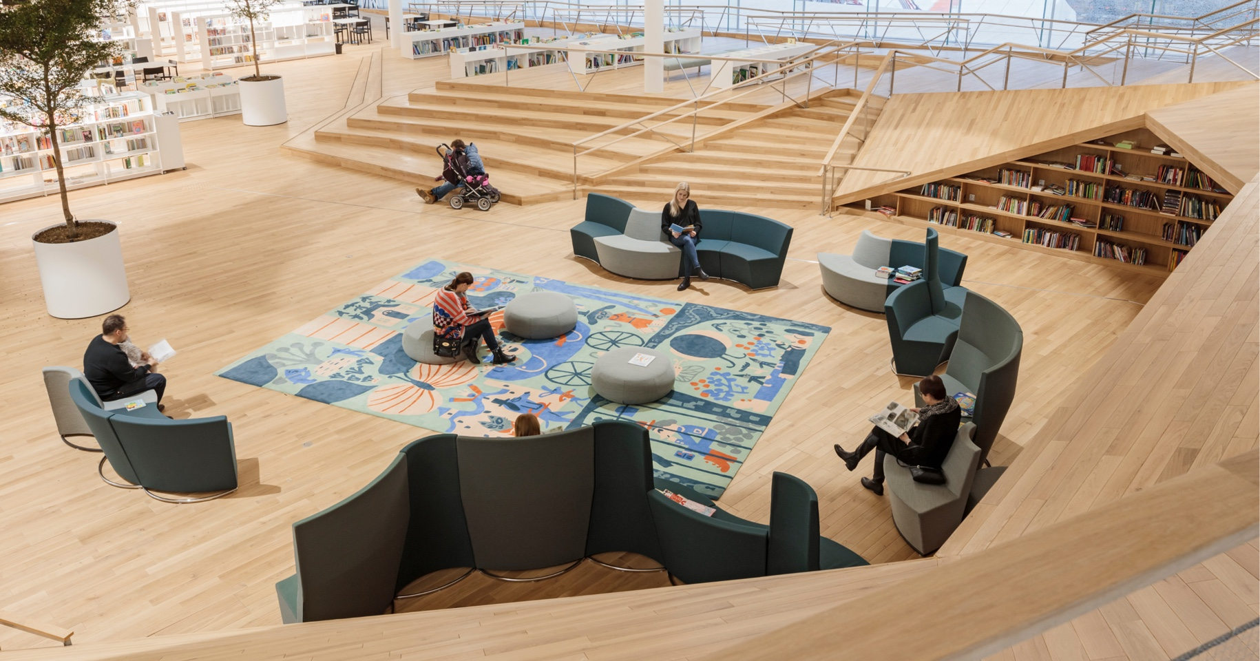 Helsinki Library Open Space