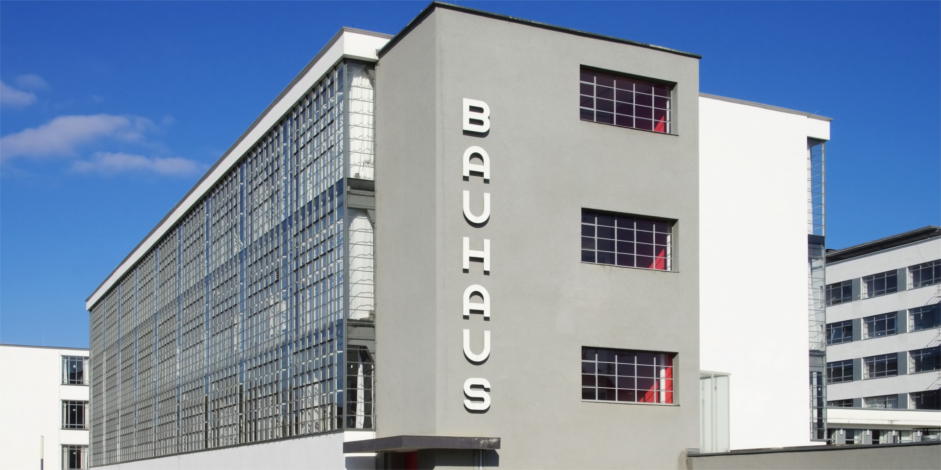 Bauhaus building in Dessau