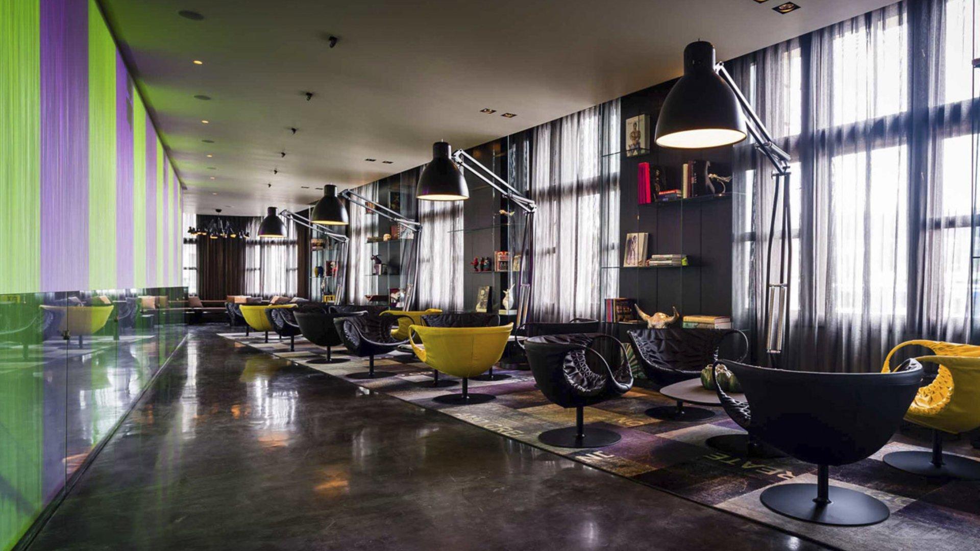Art'otel Amsterdam modern hospitality design by Digital Space