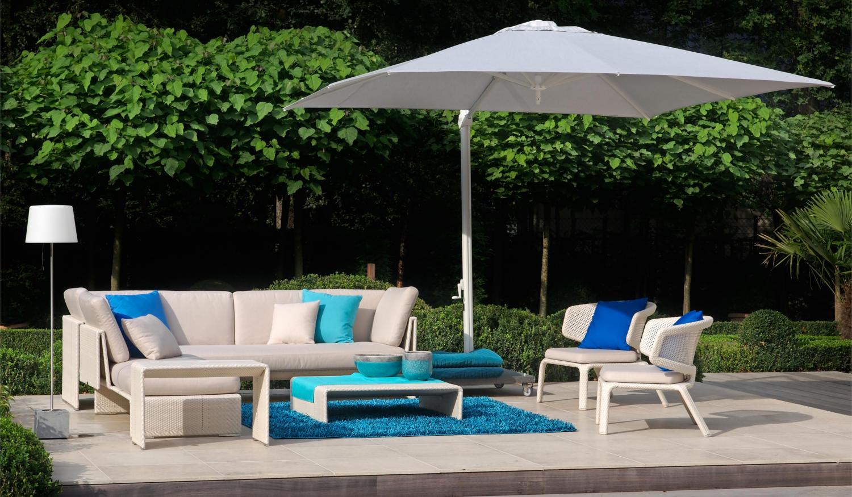 Outdoorteppich für Außensitzbereich am Pool